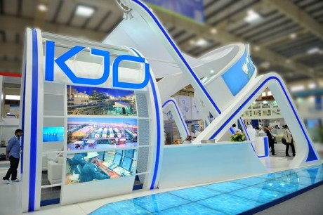 KJO Booth at GEO 2012 - Bahrain