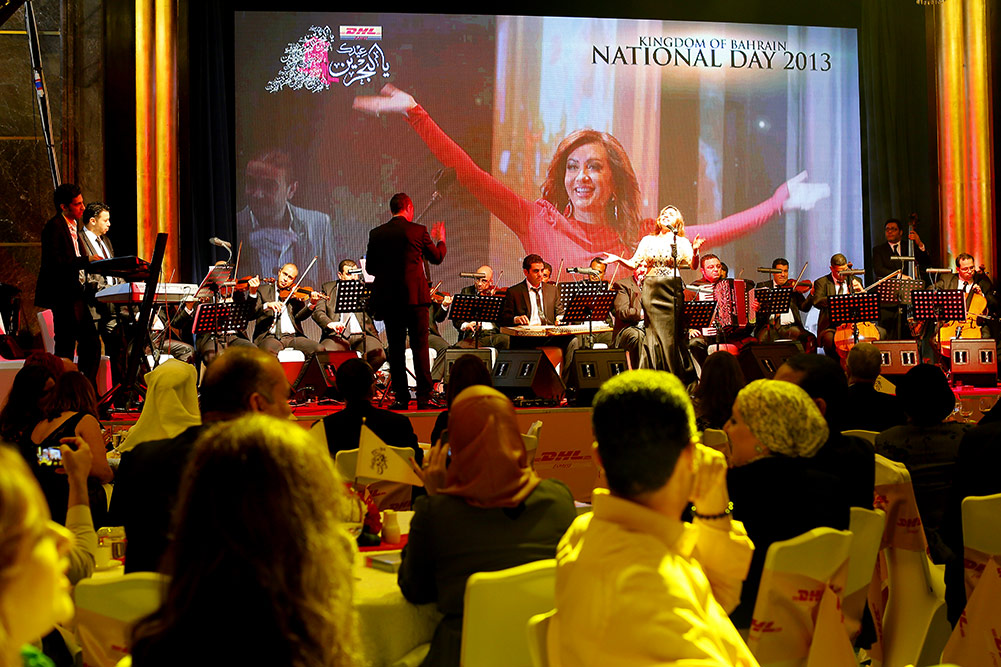 Miraj puts together Bahrain National day celebrations for DHL