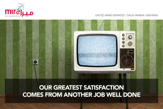 Miraj Media | OUR GREATEST SATISFACTION  COMES FROM ANOTHER JOB WELL DONE DONE