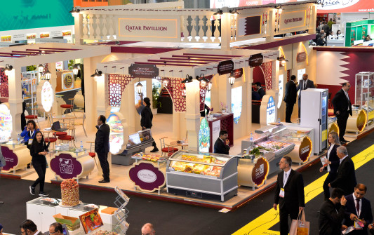 Culturally rich Qatar pavilion wows visitors at SIAL Paris