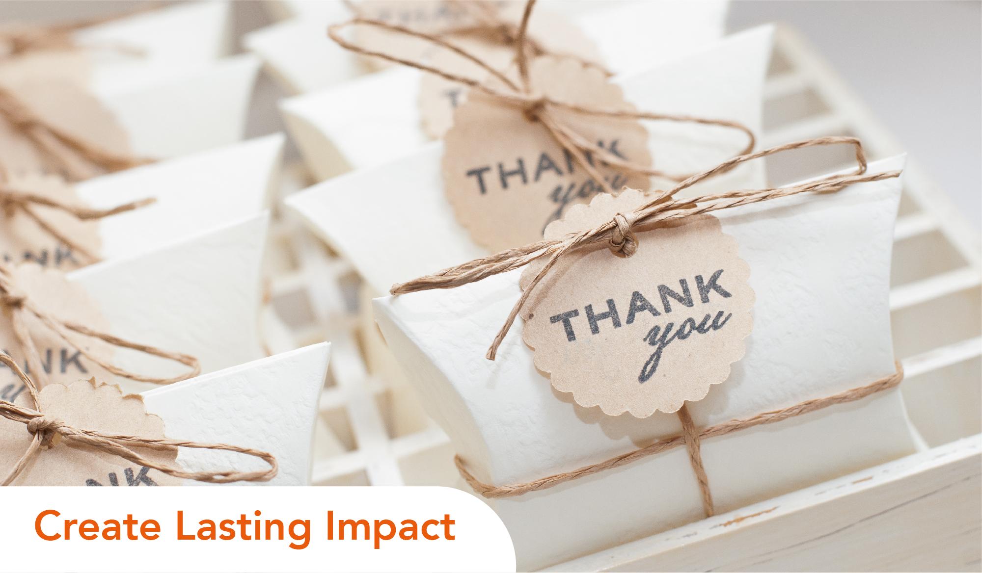 Create Lasting Impact