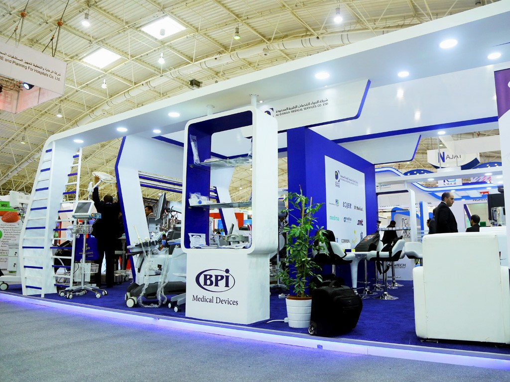 International exhibition exhibition stand design saudi for International decor services