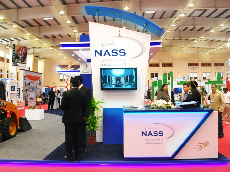 NASS Group Exhibiton Stand | Exhibition Design Company in