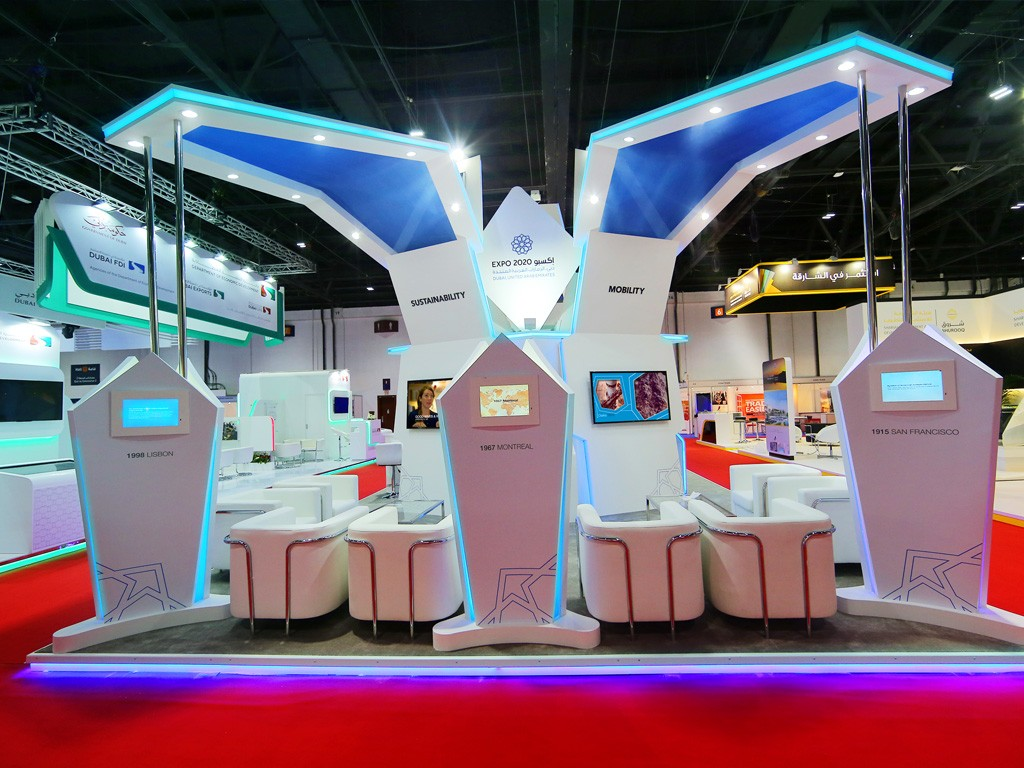 Exhibition Stand In Dubai : Exhibition stand contractors dubai
